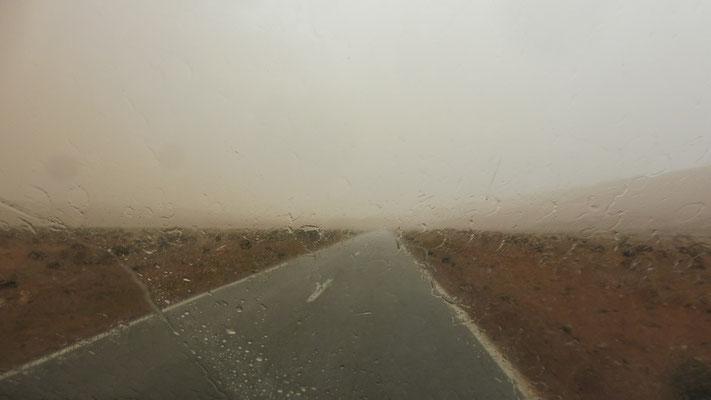Regen in der Westsahara