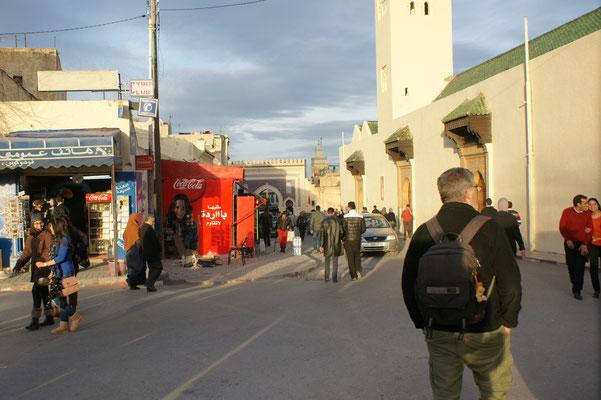 Keine Anmache vor der Medina