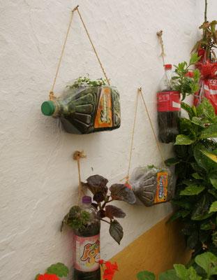 Receycling mit Fantasie in Elvas
