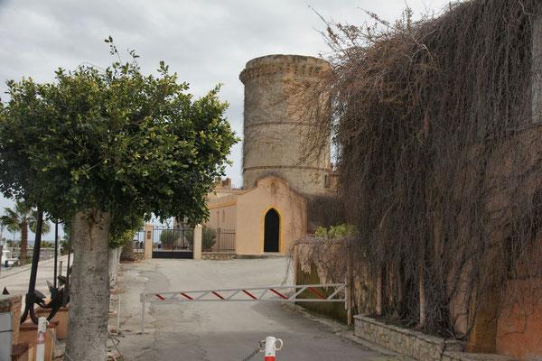 Der Turm von San Nicola l'Arenal