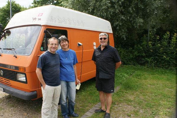 Regula und Jörg fahren mit dem Frachter nach Südamerika