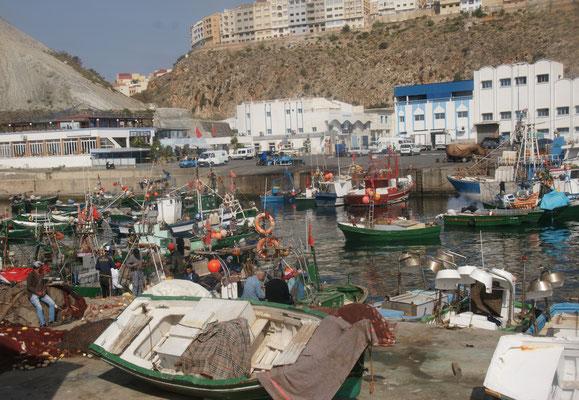 Im Hafen von Al Hoceima