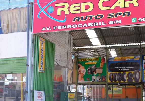 Auch das gibt es im katholischen Peru