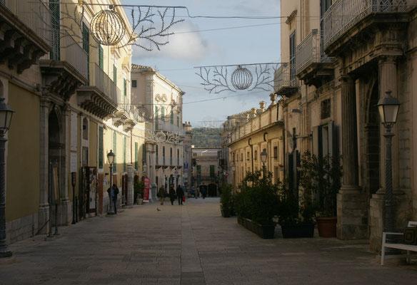 Die schönste Strasse von Ragusa