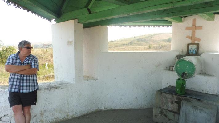 Geduld braucht das Wasserfüllen in Moldawien