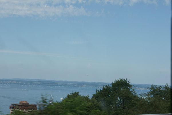 Ein letzter Blick auf den Bodensee