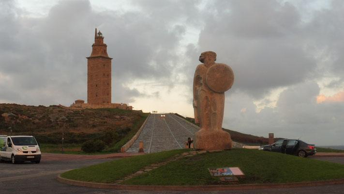 Der Torre mit dem Herkules einmal traditionell....