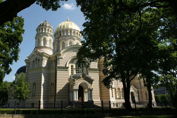 Die grösste russisch-orthodoxe Kirche des Baltikums