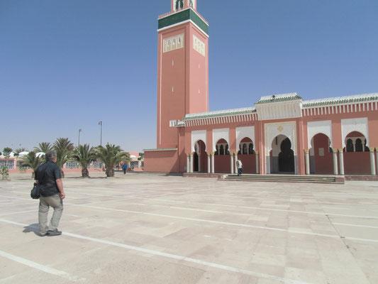 Die Mouley ab es aziz Moschee sollen wir nicht fotografieren.
