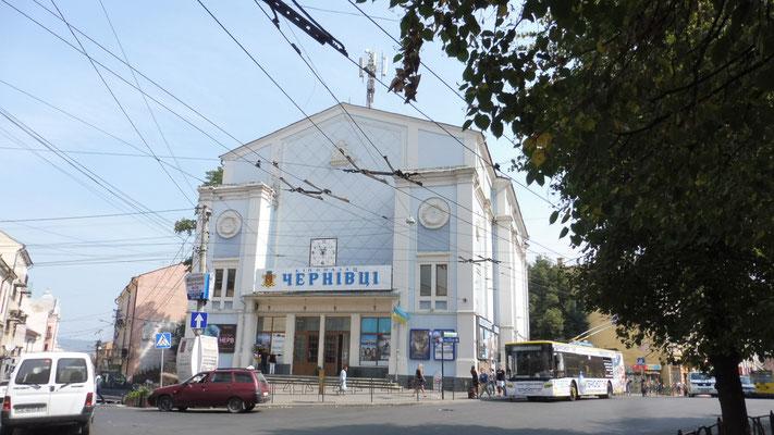 Die jüdische Kirche wurde in ein Kino umfunktioniert