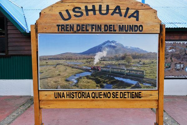 Die südlichste Bahn der Welt. Gefangenbahn von Ushuaia