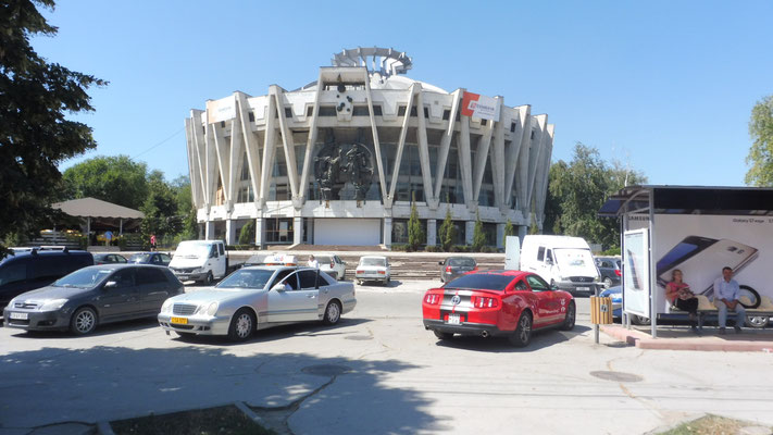 Der leider geschlossene Zirkus in Chisinau