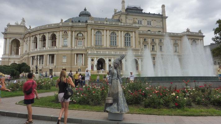 Das Opernhaus von Odessa