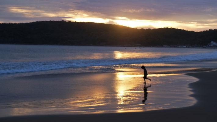 Abendstimmung am Pazifik