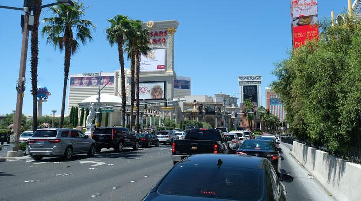 ...... wir in Las Vegas eintreffen