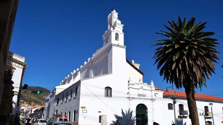 Eines der zahlreichen Kloster im Zentrum von Sucre.