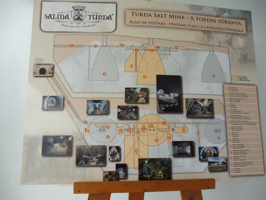 Salzbergwerk in Turda, Rumänien