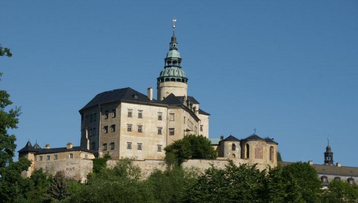 Blick vom Uebernachtungsplatz in Friedland