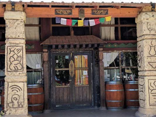 Das Kaffee Tibet in Uspallata, leider heute geschlossen.