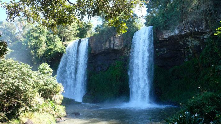 """Wir passieren die """"kleinen"""" Wasserfälle"""