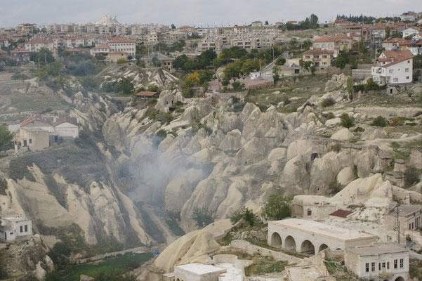 Kehrrichtverbrennung auf türkisch in Ortahisar