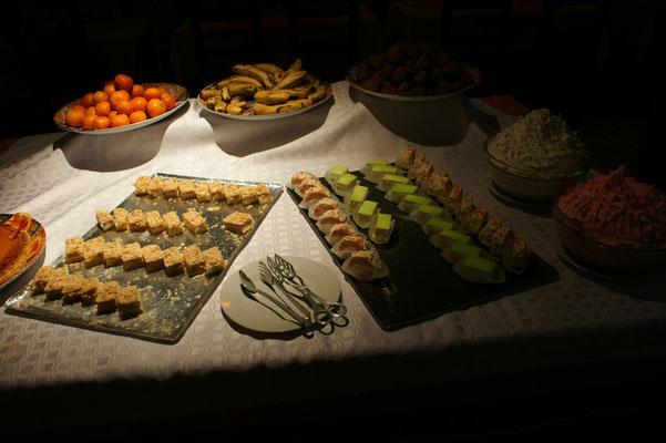 Verschiedene Dessert