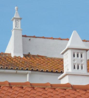 liebevoll gestaltete Kamine in der Algarve