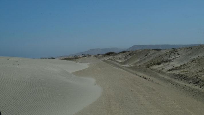 mehr Sand soll dann bitte nicht kommen