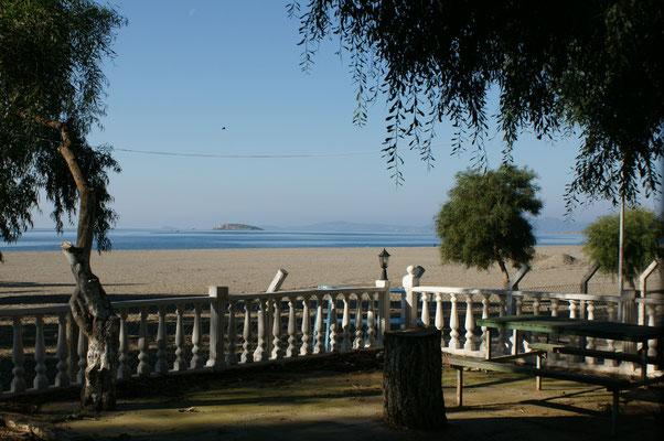 Unser Campingplatz in Gümüldü
