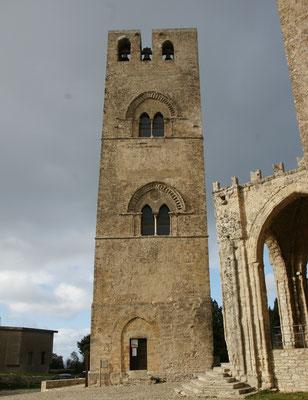 Der Glockenturm von Erice