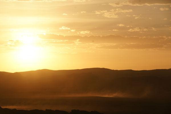 Tschüss Sonne