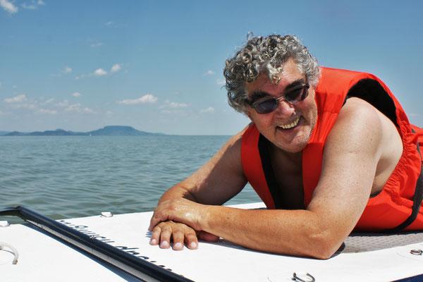 ....lieber auf dem Wasser