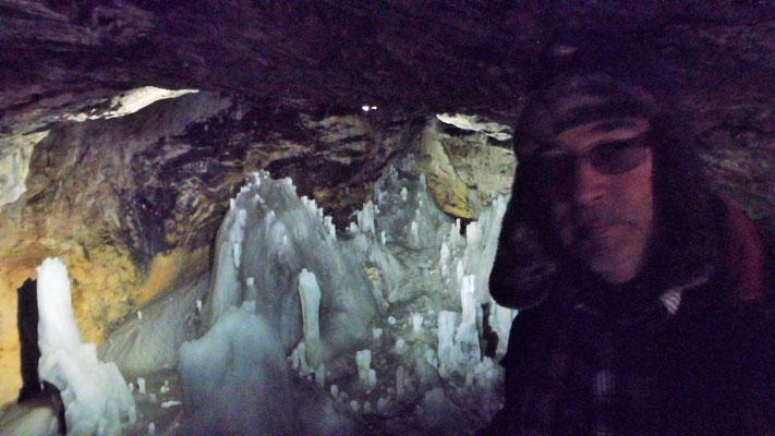Eis und eisige Temperaturen