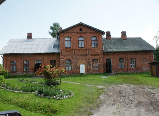 Bahnarbeiterhaus in Gulbene