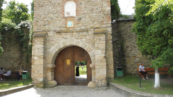 Blick in ein Kloster