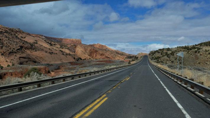 Es geht Richtung Monument Valley....