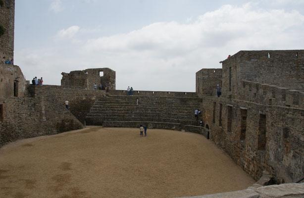 """Die Festung Monsaraz mit dem """" Spielplatz"""""""