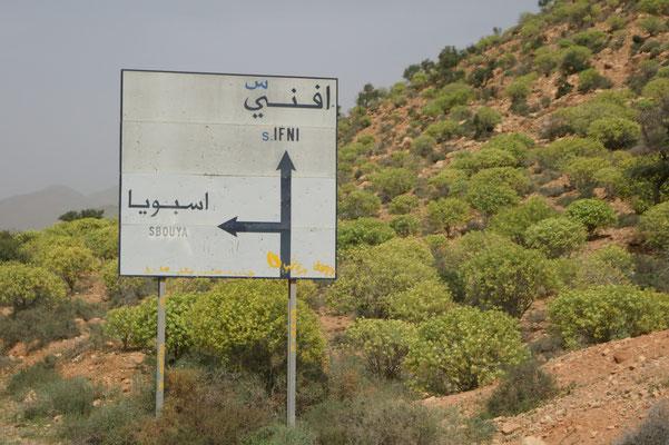 Also Planänderung.... Sidi Ifni ist nun das Ziel