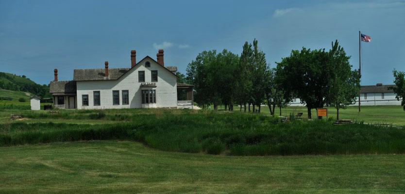 Die Villa von General Cutter mit seinen 8 Badezimmern