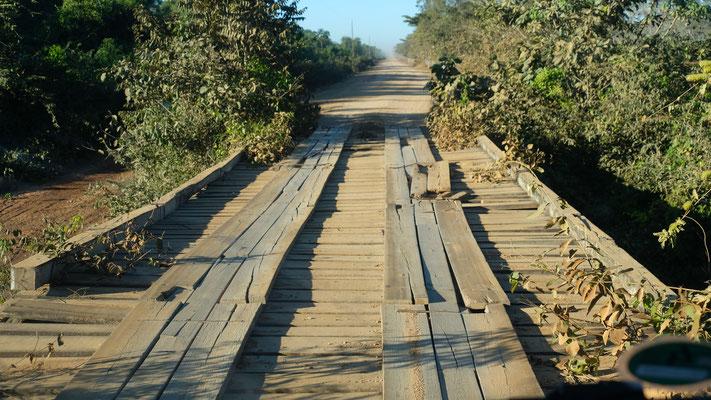Nur wenige Brücken sind etwas in die Jahre gekommen.