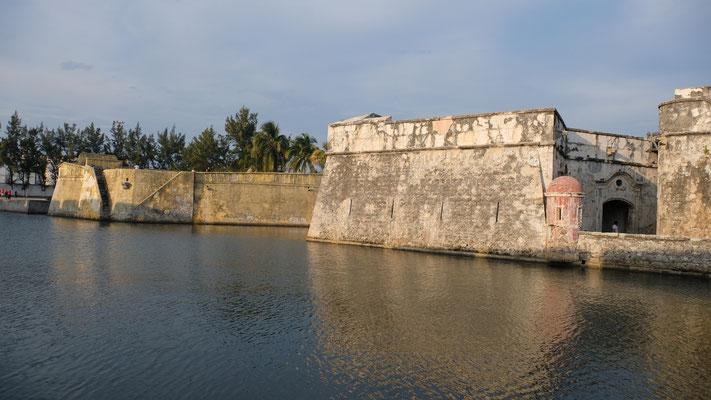 Die Festung  von Veracruz