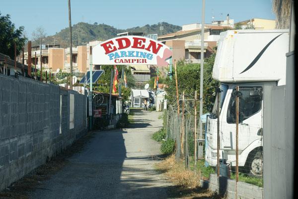 """Unser """" Zuhause"""" für die nächsten Tage in Giardini-Naxos"""