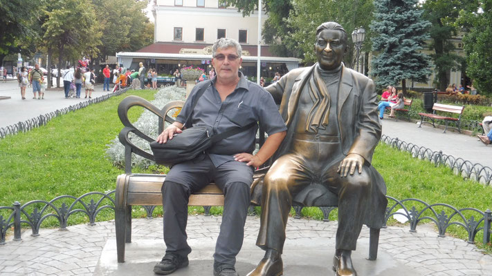 Alois macht es sich gemütlich in Odessa