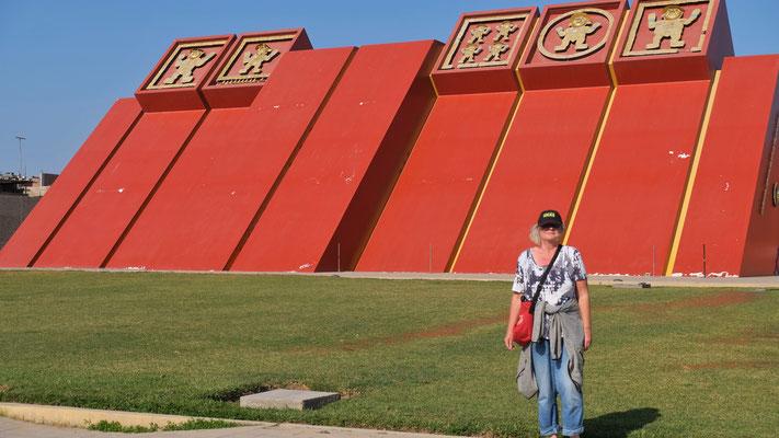 Echt gross das Museo Tumbes Reales de Sipan