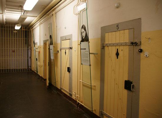 Auch politische gefangene Frauen wurden hier eingekerkert.