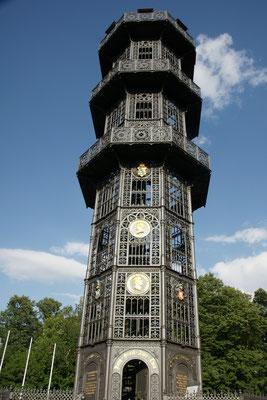 Der Gusseiserne Turm bei Lübau