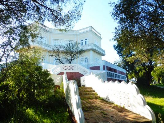 Die Villa von Joao Lucio dem Dichter von Olhao