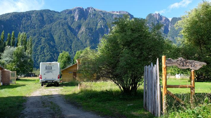Auf dem Campingplatz mit Waschservice bekommen wir vom Chef.....