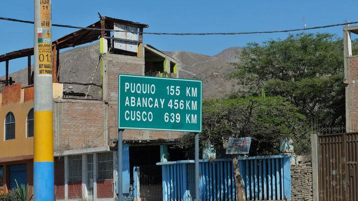 Ueber die Transoceanica über Cusco, Puerto Maldonada, nach Brasilien, so der Plan