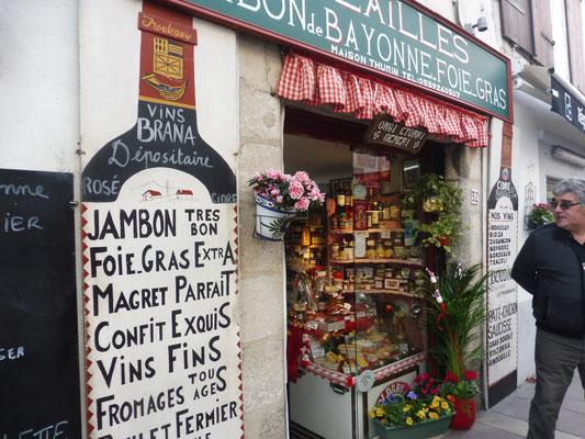 Hübsche, anmächlelige Geschäfte in St.Jean de Luz